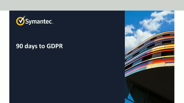 The clock is ticking: GDPR: Act now to accelerate your GDPR journey