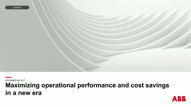 Maximizing operational performance and cost savings in a new era for oil and gas