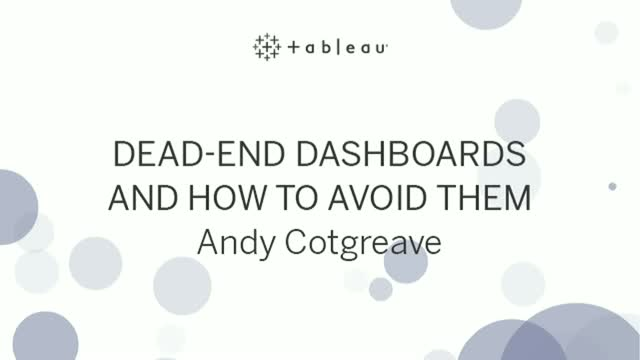 Dead-end dashboards and how to avoid them