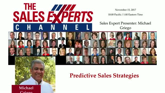 Predictive Sales Strategies