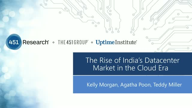 The Rise of India's Datacenter Market in the Cloud Era (APAC Audience)