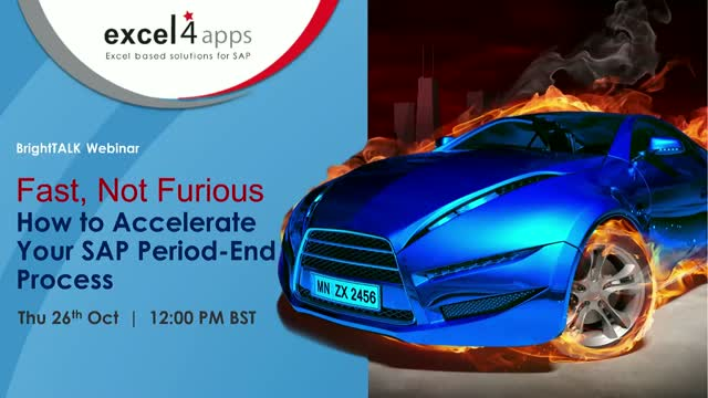 Fast, not Furious! How to accelerate your SAP period-end close.