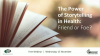 The Power of Storytelling in Health: Friend or Foe?