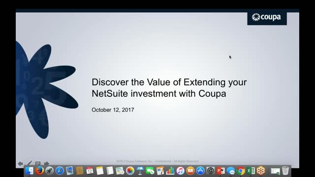 Discover the Value of Extending your NetSuite Investment with Coupa