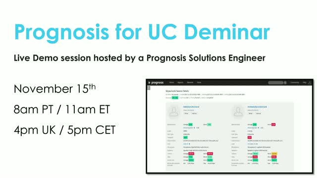 Prognosis for UC Deminar (November)