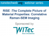 RISE -The Complete Picture of Material Properties: Correlative Raman-SEM Imaging