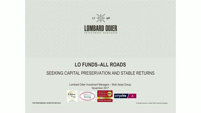 LO Funds-All Roads: aiming to provide stable returns across market cycles