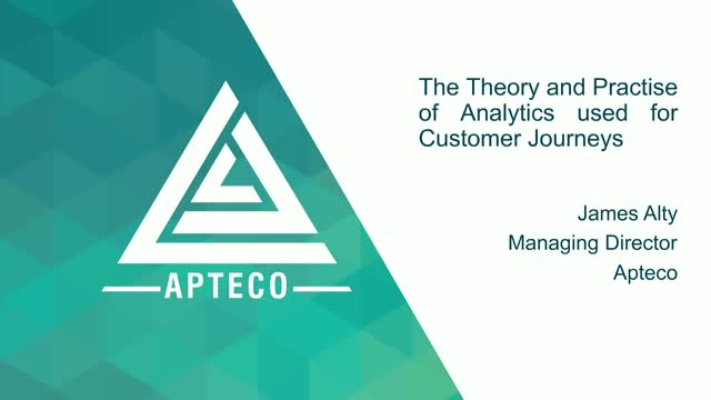 The Theory and Practise of Analytics used for Customer Journeys