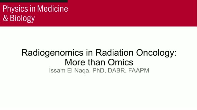 Radiogenomics in Radiation Oncology: More than Omics