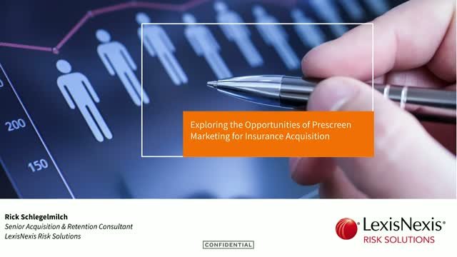 Exploring the Opportunities of Prescreen Marketing for Insurance Acquisition
