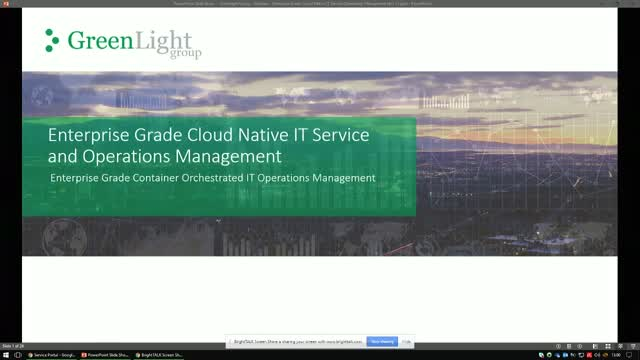 Enterprise Grade Cloud Native IT Service Operations and Management