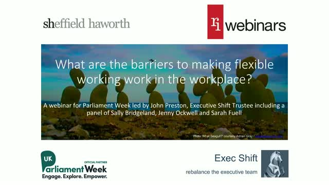 What are the barriers to making flexible working work in the workplace?
