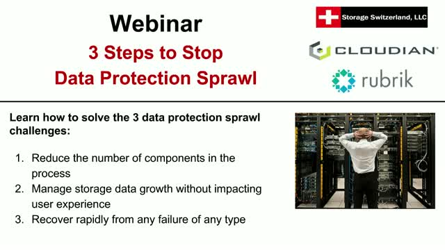 3 Steps to Stop Data Protection Sprawl