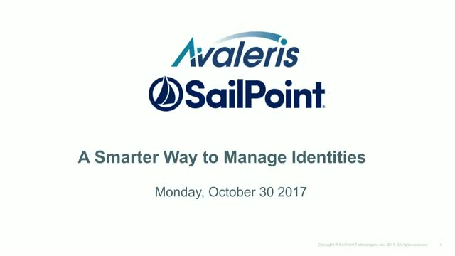 SailPoint IdentityIQ & Identity Governance