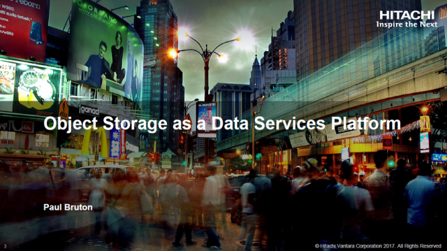 Object Storage as a Data Services Platform