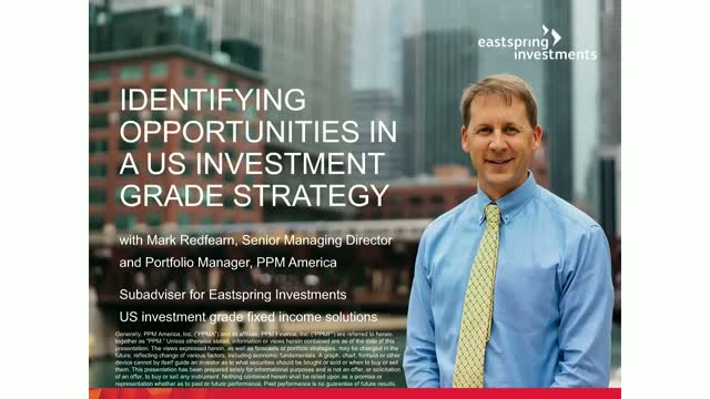 Identifying opportunities in a US investment grade strategy