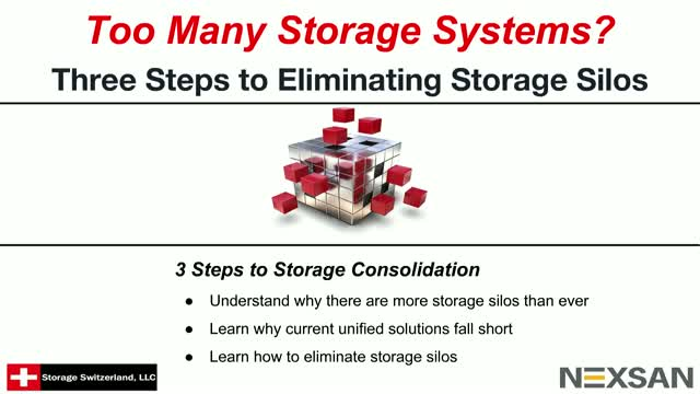 Three Steps to Eliminating Storage Silos