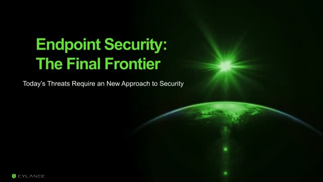 Endpoint Security: The Final Frontier