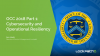 OCC 2018 Part 1: Cybersecurity and Operational Resiliency