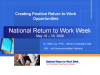 Creating Positive Return to Work Experiences