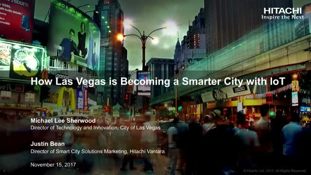How Las Vegas Is a Smarter City With IoT