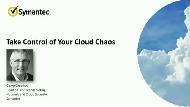 Take Control of the Cloud Chaos