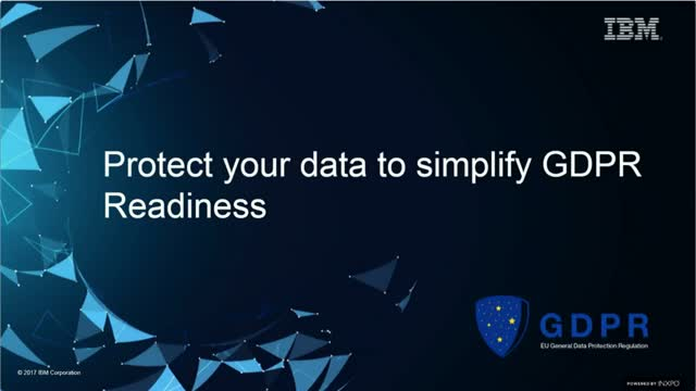 Secure your data with IBM Cloud to simplify GDPR Readiness