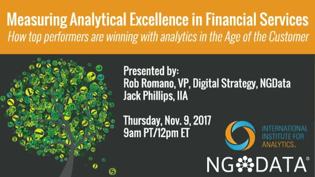 Measuring Analytical Excellence in Financial Services