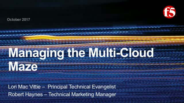 Managing the Multi-Cloud Maze: Key Principles to Keep You on Track