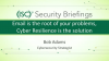 Briefings Part 2: Email at the root of problems? Cyber Resilience is the answer