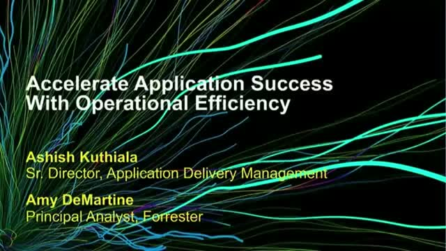 Accelerate Application Success With Operational Efficiency