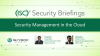 Security Management in the Cloud