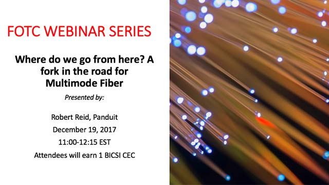 Where Do We Go From Here?  A Fork in the Road for Multimode Fiber