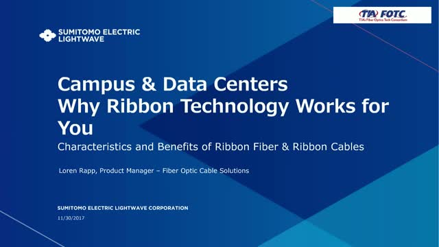 Campus & Data Centers Why Ribbon Technology Works for You