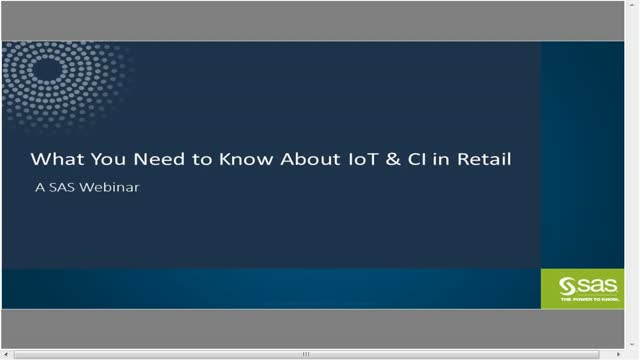 What you need to know about IoT and Customer Intelligence in Retail