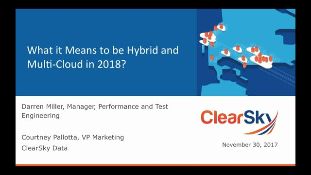 What does it mean to be hybrid and multi-cloud in 2018?