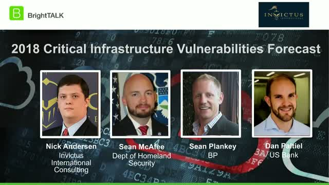 2018 Critical Infrastructure Vulnerabilities Forecast