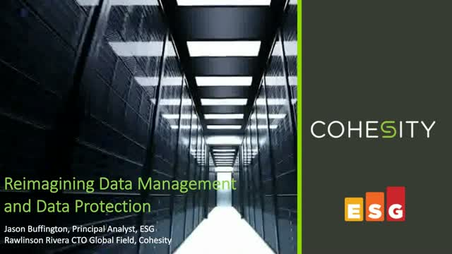 Reimagining Data Management and Data Protection