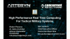 High Performance Real Time Computing For Tactical Military Systems