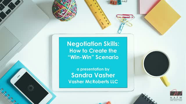 "Negotiating Skills – How to Create the ""Win-Win"" Scenario"