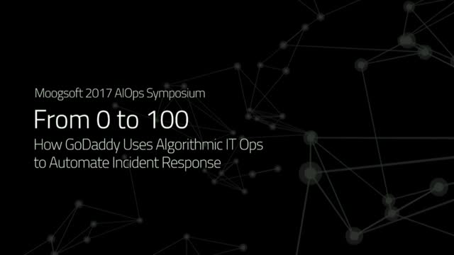 How GoDaddy Uses AIOps to Automate Incident Response