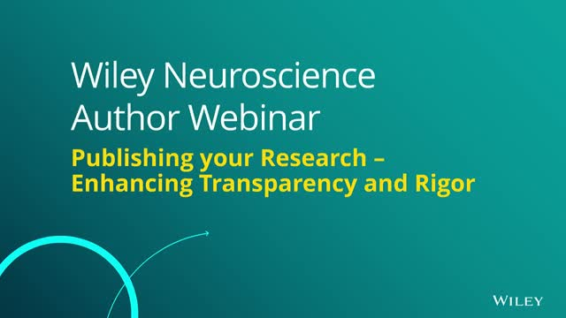 Publishing your Research: Enhancing Transparency and Rigor