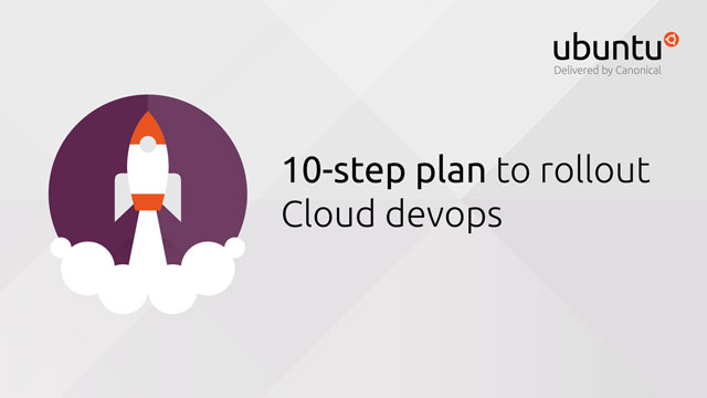 10-step plan to roll out Cloud devops