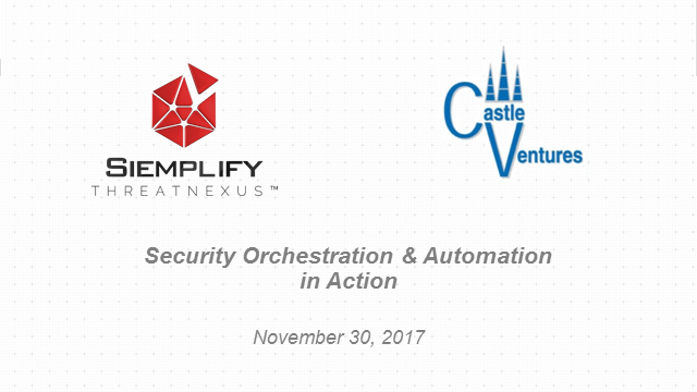 Running a SOC with Security Orchestration - Use Cases, Benefits and Impacts