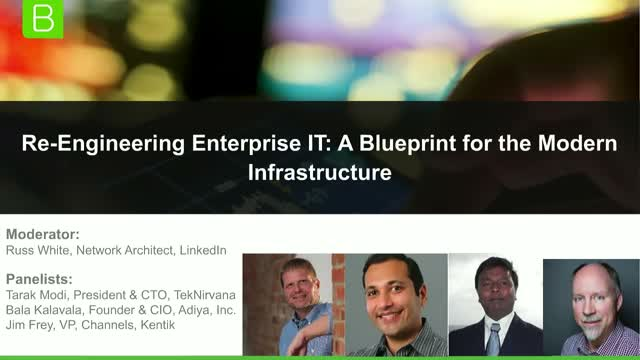 Re-Engineering Enterprise IT: A Blueprint for the Modern Infrastructure