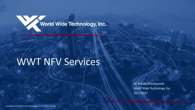 World Wide Technology Solution NFV Validation Services