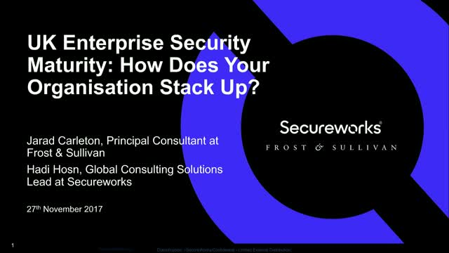 UK Enterprise Security Maturity: How Does Your Organisation Stack Up?