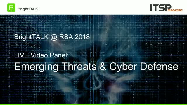 [CPE Credit Panel] Emerging Threats & Cyber Defense