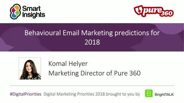 Behavioural Email Marketing predictions for 2018