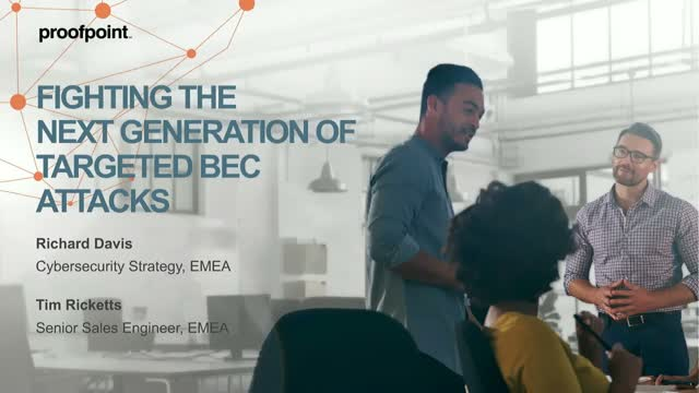 Email Fraud Defence - How to Fight the Next Generation of Targeted BEC Attacks